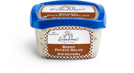 NEW Grandma's Baked Potato Salad