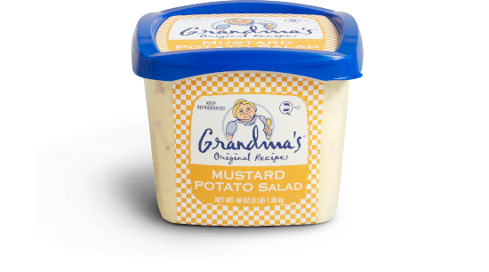 Grandma's Mustard Potato Salad