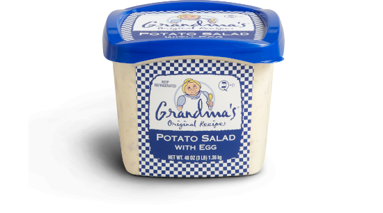 Grandma's Potato Salad with Egg