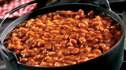 Grandma's Slow Cooked Beans