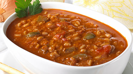 Stuffed Pepper Soup (Made with Ground Beef)