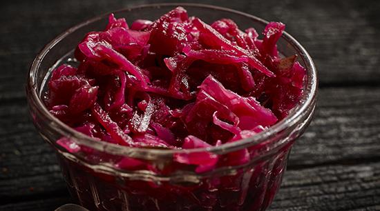 Spiced Apple Cabbage & Beet Salad
