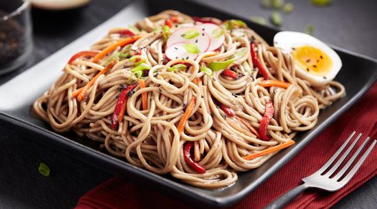 Asian Style Spaghetti Salad