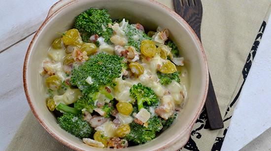 Broccoli Toss Base with Bacon