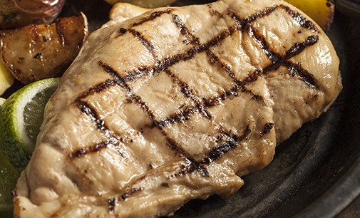 Fully Cooked Grilled Chicken Breast - BULK