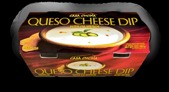 Casa Cucina Queso Cheese Dip with Jalapenos