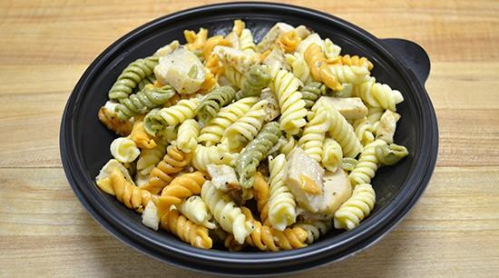 Pasta with Chicken Salad