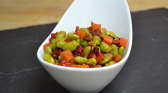 Fire Roasted Edamame Salad