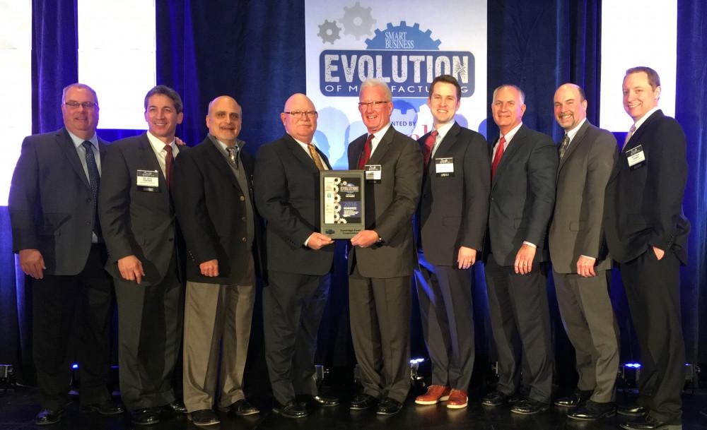 Sandridge Food Corporation Wins 2016 Evolution of Manufacturing Award