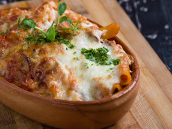 Cheesy French Onion Penne
