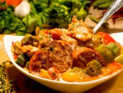 30-Minute Chicken Gumbo