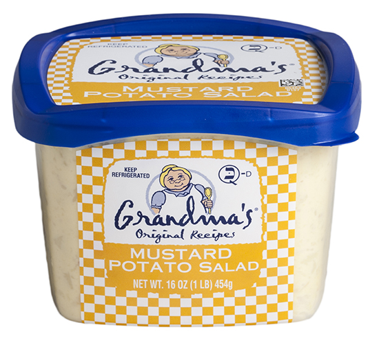 Grandma's Mustard Potato Salad