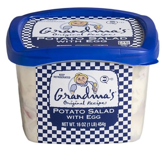 Grandma's Potato Salad with Egg
