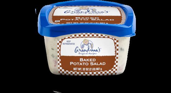 Grandma's Baked Potato Salad