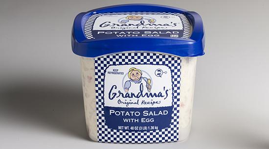 Grandma's Retail Potato Salad with Egg