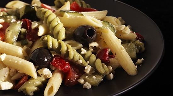 Greek Feta Village Pasta Salad