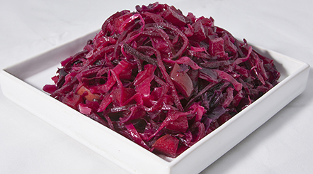 Spiced Apple Cabbage & Beet Salad