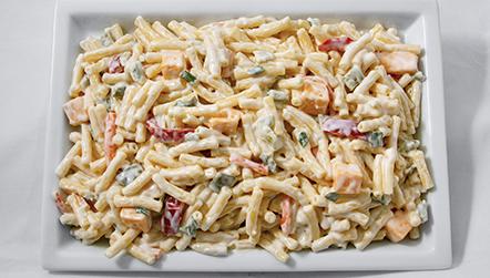 Sour Cream Mac & Cheddar Salad
