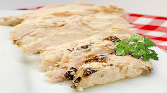Fully Cooked Sliced Grilled Chicken Breast