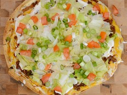 7 Layer Southwest Pizza