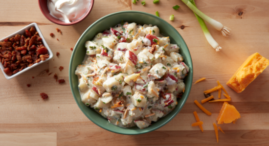 Stuffed Potato Salad