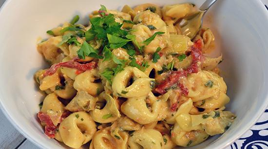 Tortellini & Artichoke Pasta Salad