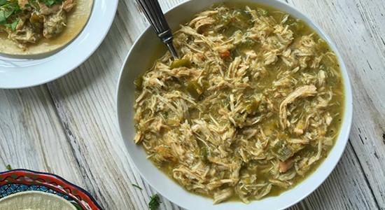 Verde Sauce with Chicken