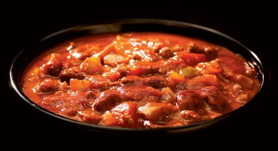 Beef Chili with Beans Soup