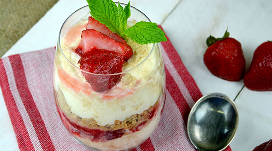 Strawberry Cheesecake Delight